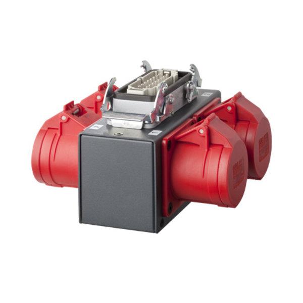 SRS Rigging* 4-kanaals MC Hoist splitbox - DV