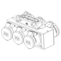 SRS Rigging* 6-kanaals MC Hoist splitbox - DV