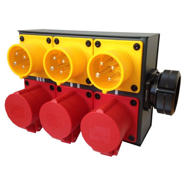 SRS Rigging* 3-kanaals MC Hoist splitbox - LV