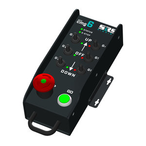 SRS Rigging* 6-kanaals AHD digital group cable remote