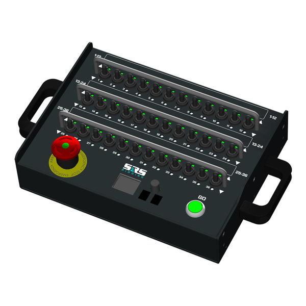 SRS Rigging* 24-kanaals ADR digital AHD T19 cable remote