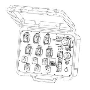 SRS Rigging* Takelsturing 6 kanaals Peli case - LV