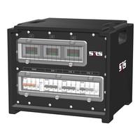 SRS Power* IP54 stroomverdeler 63A   3x 32A 5p   Main MCB   3x MCB   VA meter   SVE3