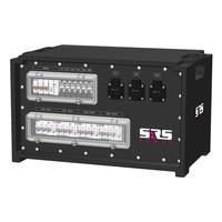 SRS Power* IP54 stroomverdeler 63A   1x 63A   4x 32A 5p   6x Schuko   Main MCB   10x RCBO   SVE4
