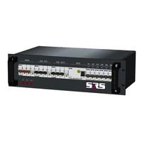 SRS Power* Rackmontage stroomverdeler 63A   2x 32A 5p   6x Schuko   Main MCB   8x MCB   3U