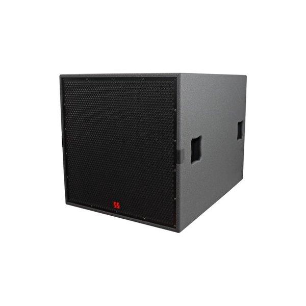 TENNAX* Speaker Ventus-18sp | actieve sub speaker | 18-inch woofer met 4-inch spoel | vanaf 28Hz | 8 Ohm | 99 dB SPL | 1x 2600W - 2x 1000W