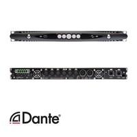 Powersoft X4 versterker   DSP   Dante   20800W   4 kanaals
