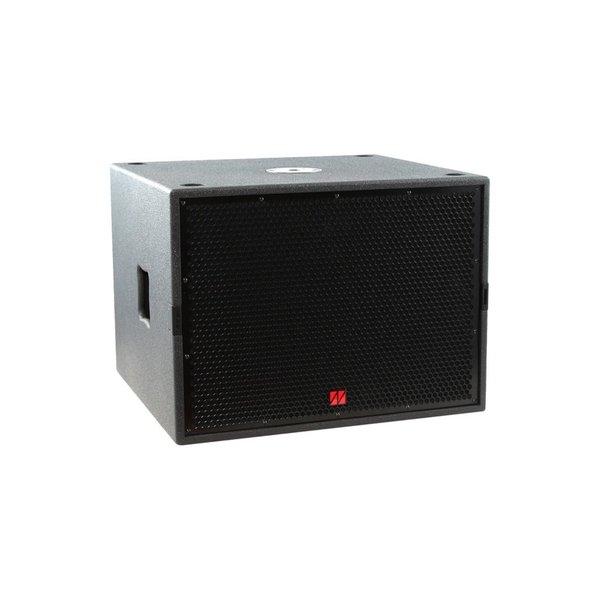 TENNAX* speakerset 12x3 en 15 inch passief   Axon-12x3 en Ventus-15   inclusief hoes, statief en transportwielen