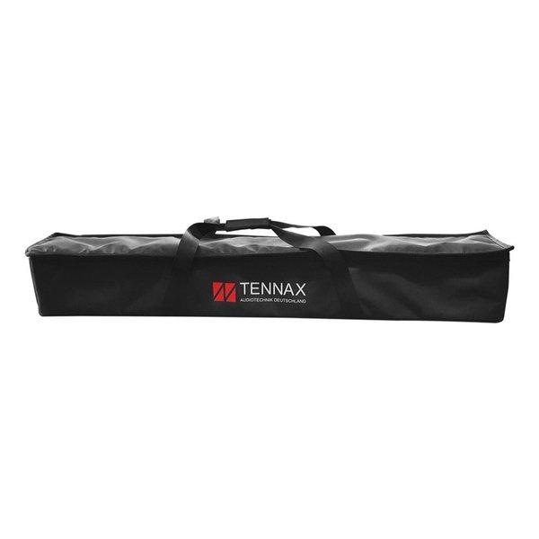 TENNAX* speakerset 12x3 en 12 inch actief | Axon-12x3, Ventus-12 en Ventus-12sp | inclusief hoes, statief en transportwielen