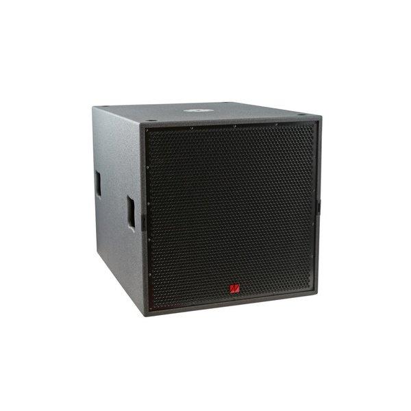 TENNAX* speakerset 12 en dubbel 18 inch actief   Flexi 12, Ventus-18 en Ventus-18sp   inclusief hoes, statief en transportwielen