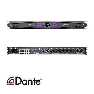 Powersoft T604 versterker | Dante | AES |  6000W | 4 kanaals