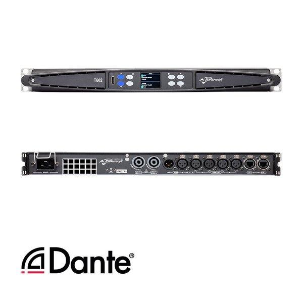 Powersoft T602 versterker | Dante | AES |  6000W | 2 kanaals