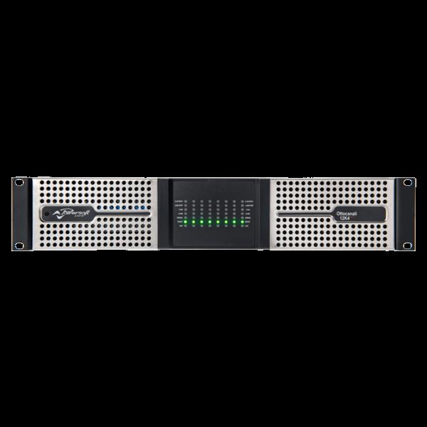 Powersoft versterker Ottocanali 12K4 | 8 kanaals | DSP | Dante | 12000W
