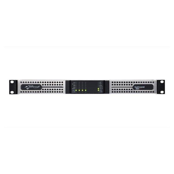 Powersoft versterker Quattrocanali 8804   4 kanaals   DSP   Dante   9600W