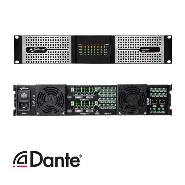 Powersoft versterker Ottocanali 4K4   8 kanaals   DSP   Dante   4000W