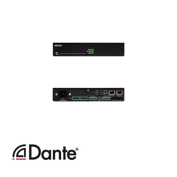 Powersoft versterker Mezzo 604 AD   4 kanaals   DSP   Dante   600W