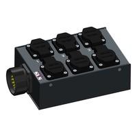 SRS Power* Multiblok Socapex 19p | 6x Schuko