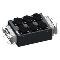 SRS Power* Multiblok Harting 16p | 1x Harting 16p | 6x Schuko - Copy
