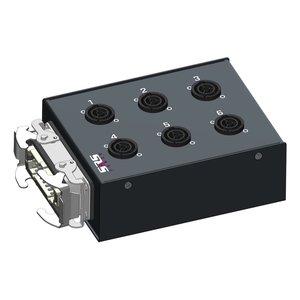 SRS Power* Multiblok Harting 16p | 6x powerCON TRUE1