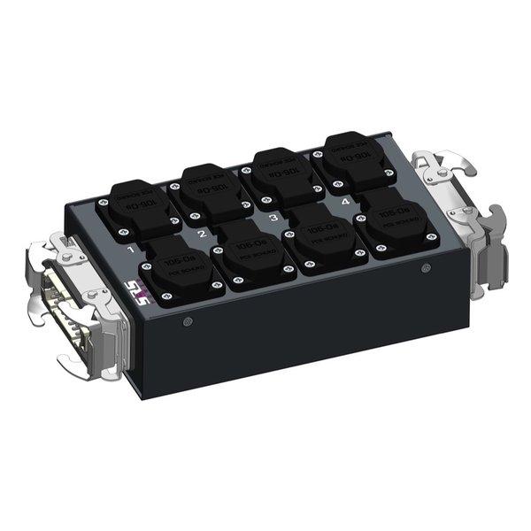 SRS Power* Multiblok Harting 16p | 1x Harting 16p | 8x Schuko