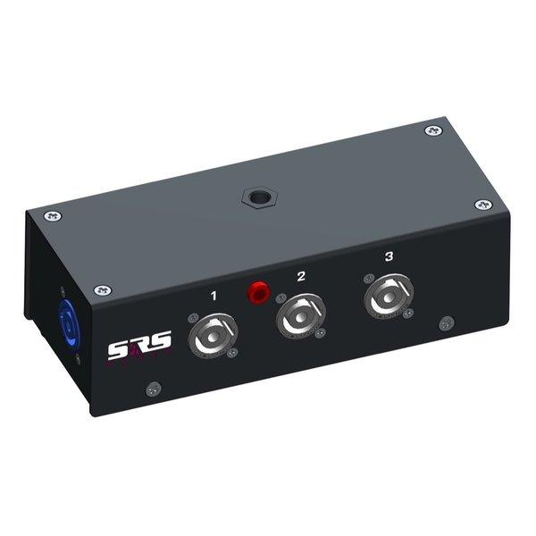 SRS Power* Multiblok powerCON | 3x powerCON | Spanningsindicatie LED