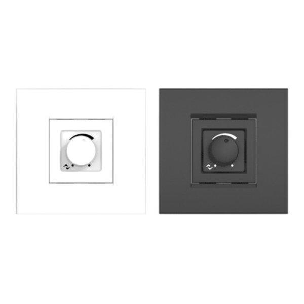 Powersoft WMP | Level Controller | vierkant | zwart