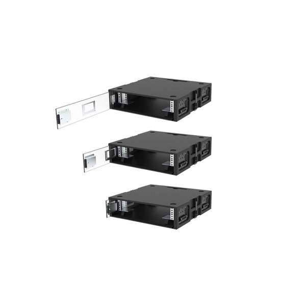 BAGAX* SDS ED Stack Rack   2HE   19 inch   60 x 78   extra diep