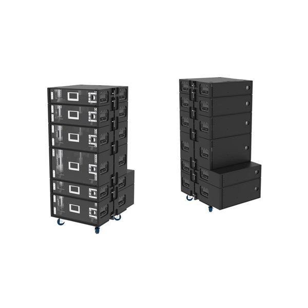 BAGAX* SDS ED Stack Rack | 4HE | 19 inch | 60 x 78 | extra diep