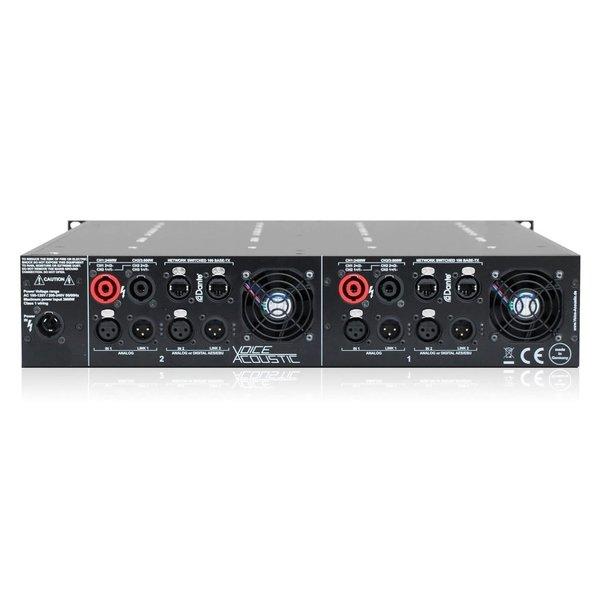 Voice-Acoustic* versterker HDSP-4DDA | 4-kanaals | DSP | Dante | 6400W