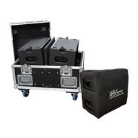 """Voice-Acoustic* Line Array Ikarray-8    2x 8"""", 4x 1""""   15° x 100° of 5° x 100°   4 Ω   104-106dB SPL"""