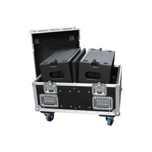 Voice-Acoustic* Ikarray-8 flightcase | geschikt voor twee speakers