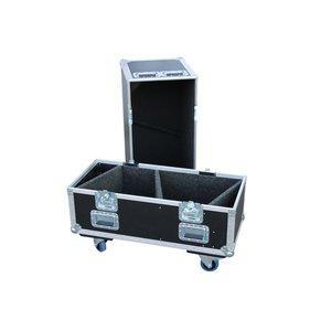 Voice-Acoustic* Modular-15 flightcase | geschikt voor twee speakers