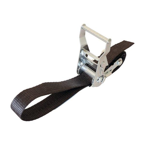 Roodenberg Sjorband met ratel | 150 daN | Zwart | 2 tot 10 meter