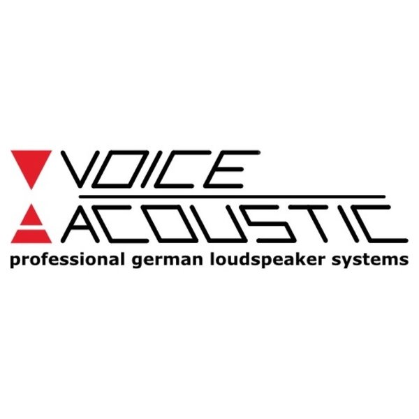 """Voice-Acoustic 1,4"""" Horn with high-frequency driver, 60° x 40° rotatable Modular 12 en 15"""