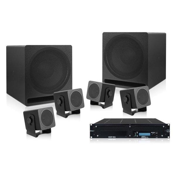 Voice-Acoustic* Speakerset Alea installatie passief   4 Alea-4   Aleasub-10 Install Set