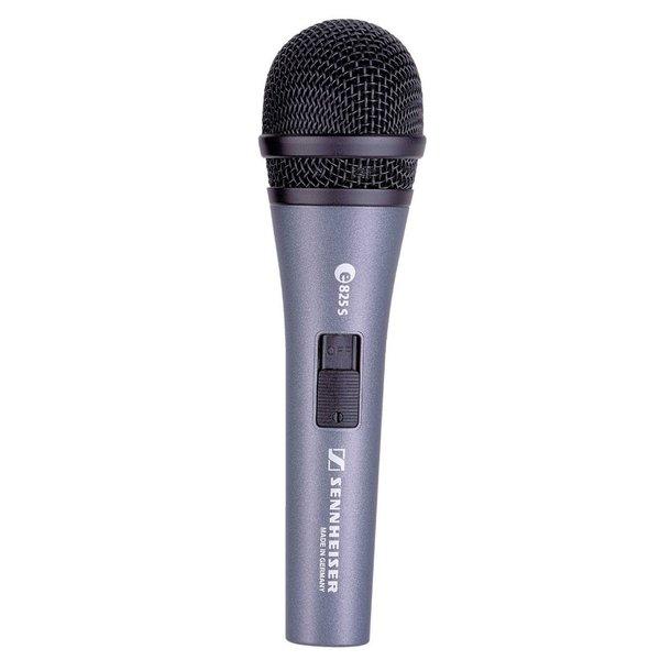 Sennheiser Zangmicrofoon | e825-S | dynamisch | cardioid | met switch | inclusief klem en hoes