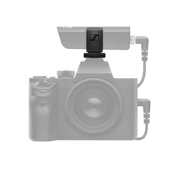 Sennheiser Draadloze ENG set   XLR zender, mini-jack zender, mini-jack ontvanger, lavalier microfoon, camera-mount, beltpack clip   USB oplaadbaar   2400-2483,5 MHz