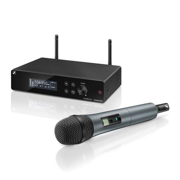 Sennheiser Draadloze handheld set   XSW 2-835   Handheld, microfooncapsule, microfoonklem, ontvanger, rackmount kit