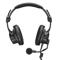 Sennheiser Hoofdtelefoon | met microfoon | HMDC 27 | Hoofdtelefoon met microfoon, hoofdband padding, wind en pop-up scherm, kabelclip