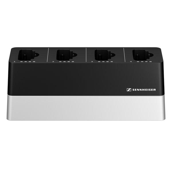 Sennheiser Laadstation   CHG 4N EU   netwerklader   vier laadmogelijkheden, voor SL bodypack DW of SL handheld DW van de SpeechLine serie