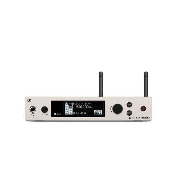 Sennheiser Draadloze handheld set | ew 300 G4-BASE SKM-S | Handheld, ontvanger, microfoonklem en rackmount kit | Diverse frequentiebanden