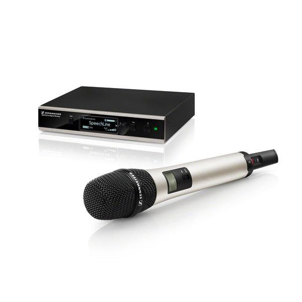 Sennheiser Sennheiser Daadloze handheld set | SL DW-3-EU | handheld, microfooncapsule, ontvanger, opbergcase of rackmontage| 1,9 GHz