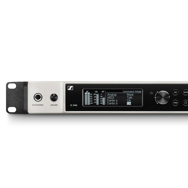 Sennheiser Ontvanger | EM 6000 | 2 kanaals ontvanger | 19-inch | AES | Dante | LR modus | 470 - 714 MHz | actieve antenne splitter