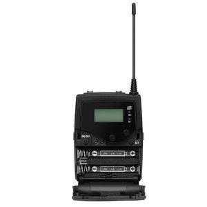 Sennheiser Bodypack ontvanger | EK 500 G4 | camera ontvanger | maximaal 8 uur gebruiksduur | tot 100 meter bereik | 3,5mm jack output met XLR verloopkabel