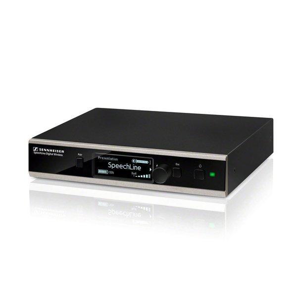 Sennheiser SpeechLine set | SL TS 133 GN SET DW-3 EU | SL-tafel staander, zwanenhals microfoon en ontvanger | QI oplaadfunctie of opladen via USB