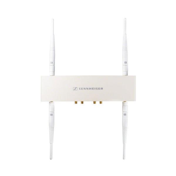 Sennheiser Antenne   AWM 4   inclusief vier antennes   wit metalen behuizing   wand- en statiefmontage