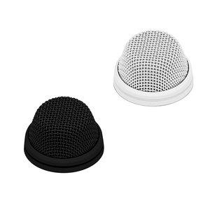 Sennheiser Grensvlak microfoon | MEB 104 | cardioide | in zwart en wit | met en zonder ledring | XLR-3 of 5 aansluiting | condensator