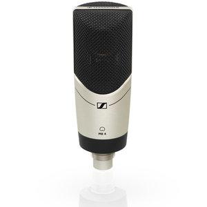 Sennheiser Grootmembraam microfoon   MK 4   condensator   cardioide   zilverkleurig