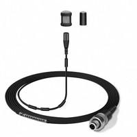 Sennheiser Lavalier microfoon | MKE 1-ew | clip-on | omidirectioneel | condensator | 3,5 mm SE jack | voor SK 100, SK300 en SK500 | zwart