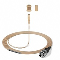 Sennheiser Lavalier microfoon   MKE 1-5-3   clip-on   omidirectioneel   condensator   4m kabel met open eind   beige